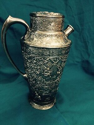 Barbour Silverplate Martini Pitcher