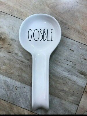 Magenta Rae Dunn Thanksgiving Fall GOBBLE Spoon Rest
