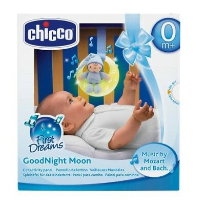 Chicco Goodnight Moon Nightlight Baby Mobile Musical, Brand New. SEE DESC