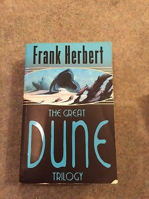 The Great Dune Trilogy:  Dune ,  Dune Messiah ,  Children of Dune by Frank...