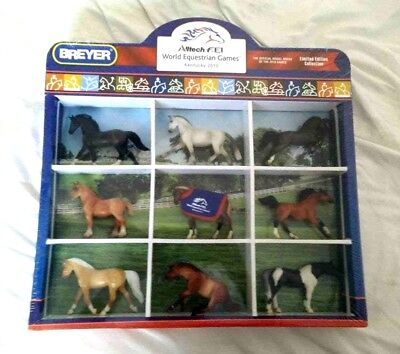 RARE WEG Shadowbox collection Breyer stablemate model horses Complete