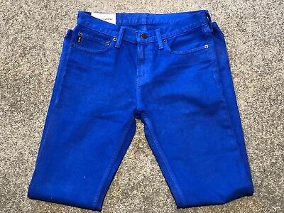 Abercrombie & Fitch Kids Skinny Fit Jeans | Boys | Bright Blue | Age 16