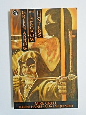 Green Arrow The Longbow Hunters #1 - 1st First Print - see pics - 8.0 - 1989