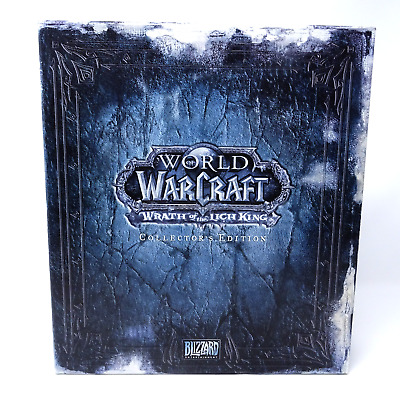 World Of WarCraft: Lich King -- Collector's Edition WOW CE  Gut/Good.