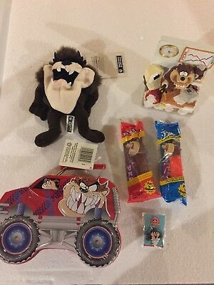 Warner Bros Tazmanian Devil Misc 6 Pcs