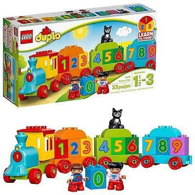 LEGO DUPLO My First Number Train 10847 Preschool Toy 23PCS
