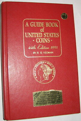 """1991 """"REDBOOK"""" 44th  EDITION BY R. S. YEOMAN"""