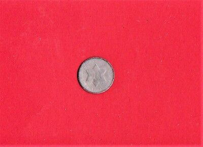 1851 O Three Cent Silver,smallest Silver Coin Ever Minted,very Old & Rare