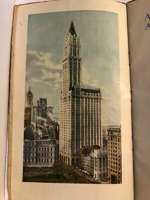 1913 Above The Clouds & Old New York Woolworth Building NYC :By A. Bruce Ep1 $Dr