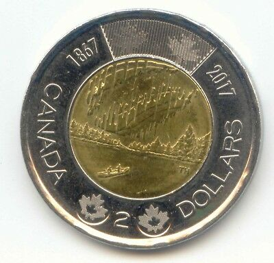 Canada 2017 Toonie Canadian Commemorative 2 Dollar $2 Two Dollar EXACT COIN ~