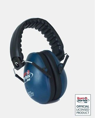 NEW Child Team Vortex Ems For Kids Earmuffs Hearing Protection Supercars events