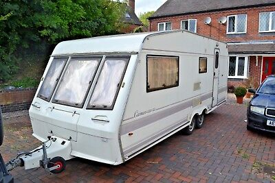 1991  Bessacarr cameo 550 gl / 4 berth twin axle caravan