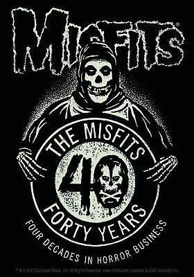 Misfits 40th Anniversary STICKER - Decal Music Band Album Art SE210