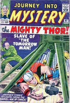 JOURNEY INTO MYSTERY #102  Marvel SILVER AGE* 1st FIRST HELA SIF BALDER THOR *