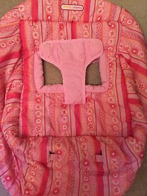 Bright Starts Comfort & Harmony Shopping Cart Cover Pink