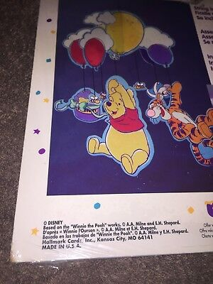 Winnie The Pooh~ Cardboard Mobile Kit/ Balloons~Party Express~Disney