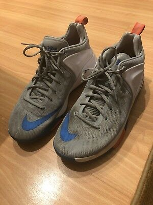 2633639cf4f5 Nike Air Lebron James Zoom Witness Mens Shoes Size 13 White Gray 852439