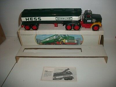 1984 HESS TOY TRUCK BANK still new in box w/ inserts and card