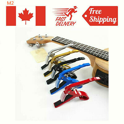Alloy Tuner Guitar Capo Clamp Tuning for Acoustic/Electric Ukulele