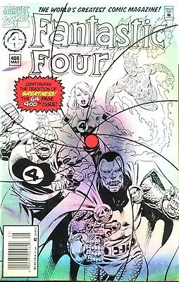 Marvel Comics Fantastic Four No 400 Special Edition Hologram Cover