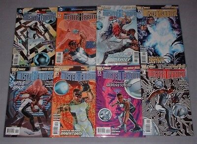 MISTER TERRIFIC - Complete Eight Issue Series (2011-2012) from DC Comics