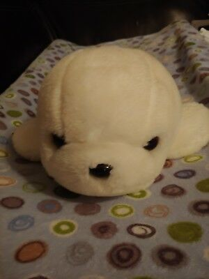 Sea World Baby Harp White arctic Seal plush Cute Official SeaWorld