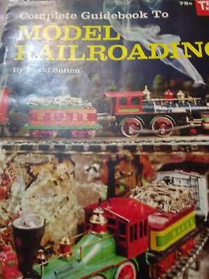 GUIDEBOOK TO MODEL RAILROADING #199 1960/LIONEL-TRAINS W/MAGNETRAC/Tonka + Block