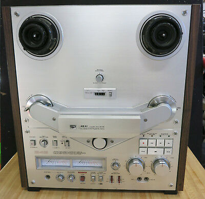 AKAI GX-646 Reel to Reel Tape Player Recorder Working