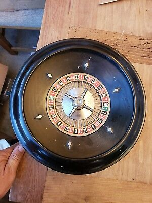 1941 American Made E.s. Lowes Roulette Wheel Only