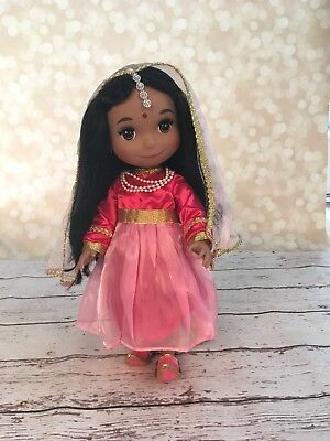 Disney It's A Small World India Indian Doll Animators Singing Collectible