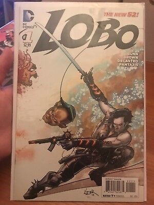 LOBO #1 First Issue The New 52 Justice League Dark Bunn Brown 2014 Kuder Cover