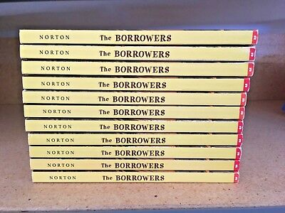 K4 Lot of 11 The Borrowers by Mary Norton Guided Reading Class Set Library