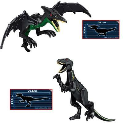 21cm Large Brick Building Block Dinosaur Dark Pterosaur Raptor Ornaments
