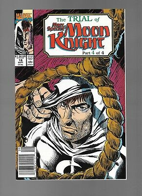 Trial of Marc Spector: Moon Knight #18 (Sep, 1990) Part Four Chuck Dixon NM- 9.2