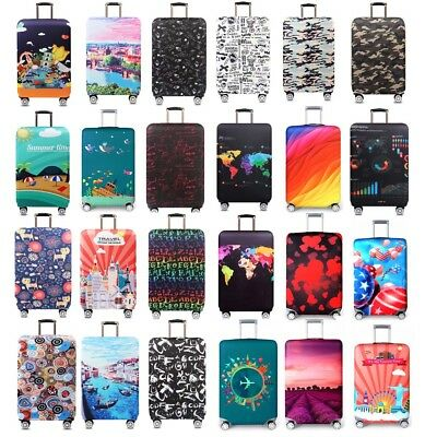 "18-32""Travel Protective Luggage Dust Cover Elastic Thick Suitcase Protector Bag"