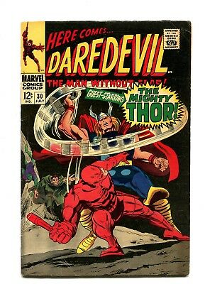 Daredevil #30 MARVEL 1967 -  - Thor app, Human Cobra and Mr. Hyde