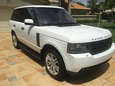 2011 Land Rover Range Rover HSE LUX NO RESERVE 2011 Range Rover HSE LUX NO RESERVE