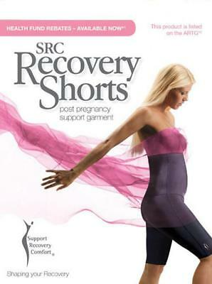 SRC Recovery Shorts - Black & Champagne, Maternity Clothing (REDUCED TO CLEAR)