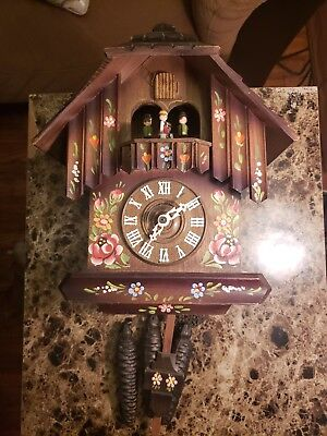 Cuendet Swiss Musical Movement West Germany cuckoo clock G.M.