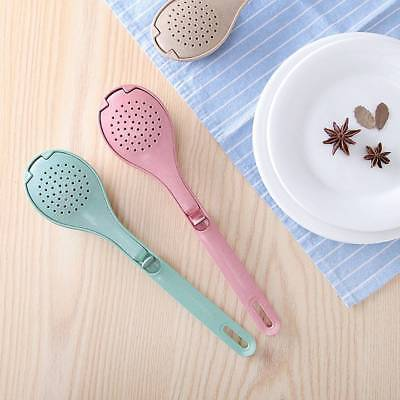 Wheat Straw Strainer Colander Spice Infuser Seasoning Spoon Cooking Tools Filter