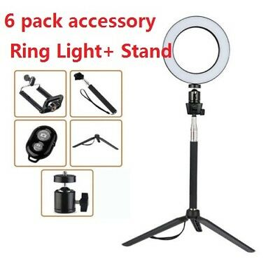 20cm LED Ring Light Photography Selfie Light Photo Phone Studio Make up Youtube