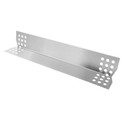 Stainless Steel Heat Plate Shield Burner Cover Bar BBQ Gas Grilling Tool A