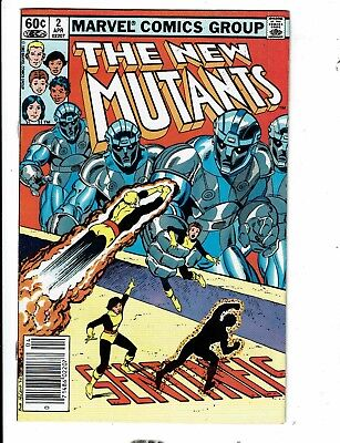 Lot Of 8 New Mutants Marvel Comic Books # 2 3 8 16 22 30 34 42 X-Men Storm JL12