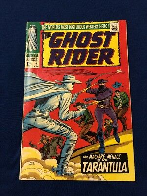 The Ghost Rider #2 Marvel Comics (1967) Carter Slade - Dick Ayers