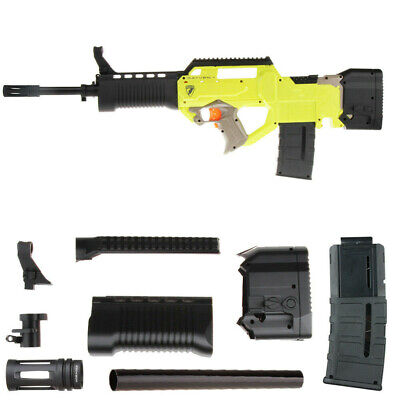 Worker Mod F10555 No.207 Front Barrel Stock Kits for Nerf N-Strike Rayven CS-18