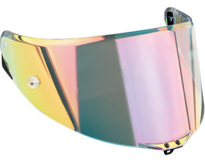 Visiera Visor Shield AGV Race 2 AS Rainbow Casco Pista GP Corsa GT Veloce