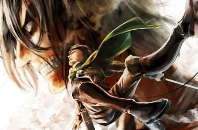 Attack On Titan Anime Poster Print - Matte Wall Art - Buy 2 Get 1 Free
