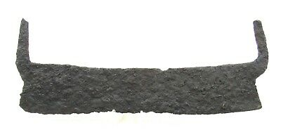 Authentic Medieval Viking Era Iron Saw - 2 Handed - L337