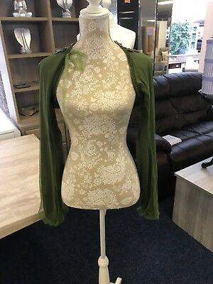 Ladies Size M  Shawl/ Bolero Jacket By O Ti Luda New