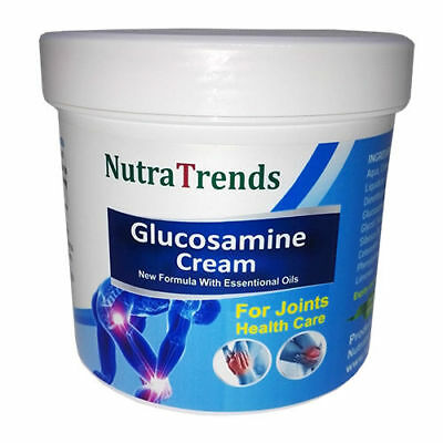 Glucosamine cream with Essential Oils for joints,bones and muscle care 250ml EU